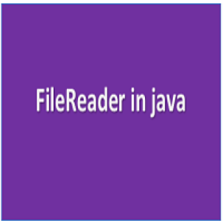 Filereader in java