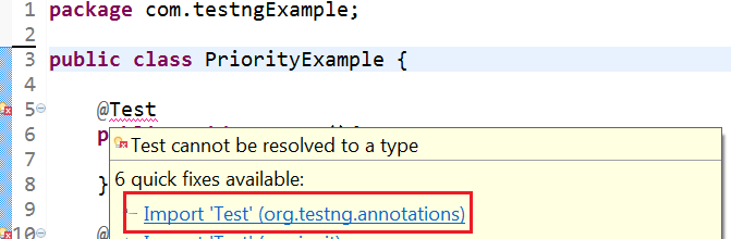 Import Annotations