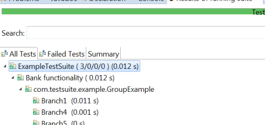 Exclude keyword in TestNg