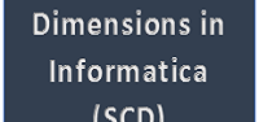 Slow changing dimension in informatica