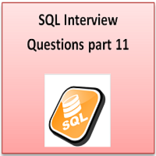 SQL interview part 11