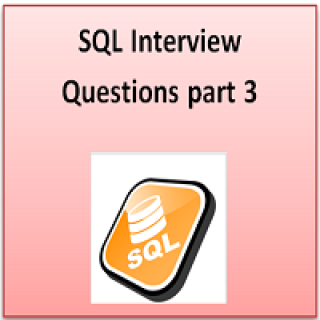SQL interview part 3