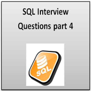 SQL interview question part 4
