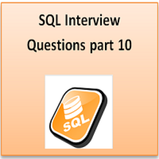 SQl interview part 10